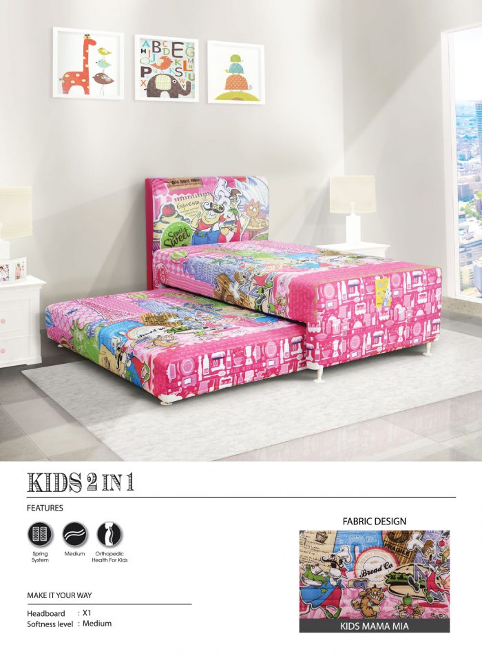 Central Spring Bed - Kids Mamamia