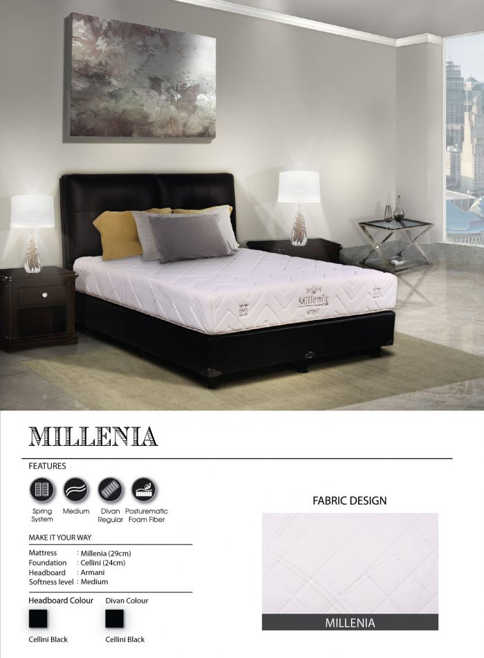 Central Spring Bed - Millenia