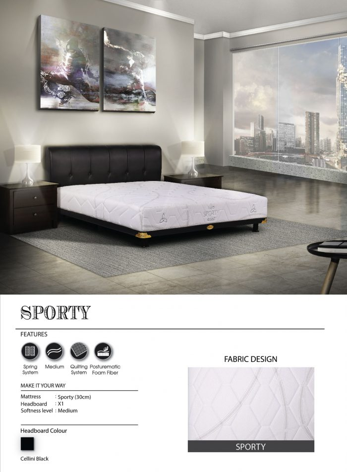 Central Spring Bed - Sporty
